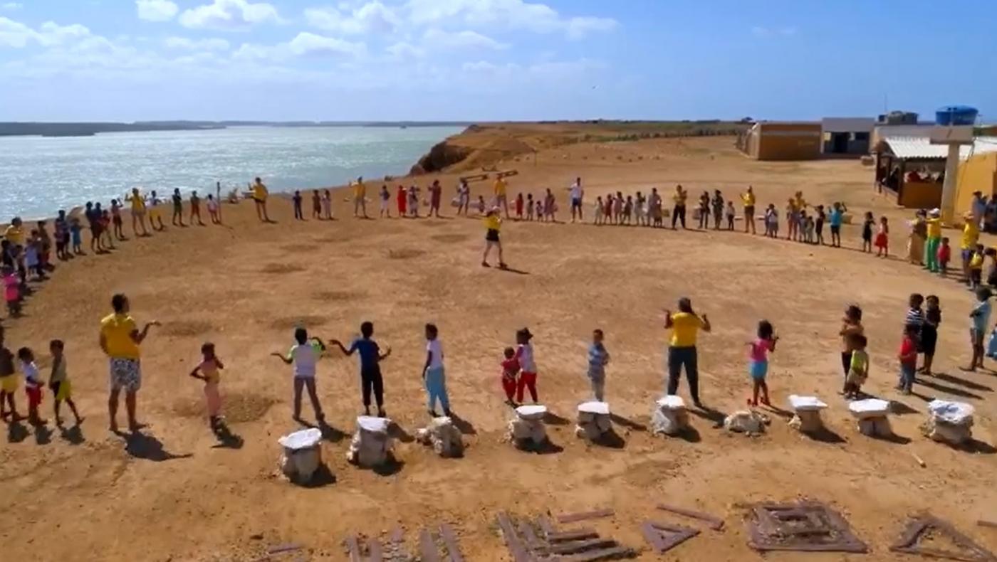 El Proyecto Guajira busca ayudar a las comunidades indígenas con la venta de tapabocas