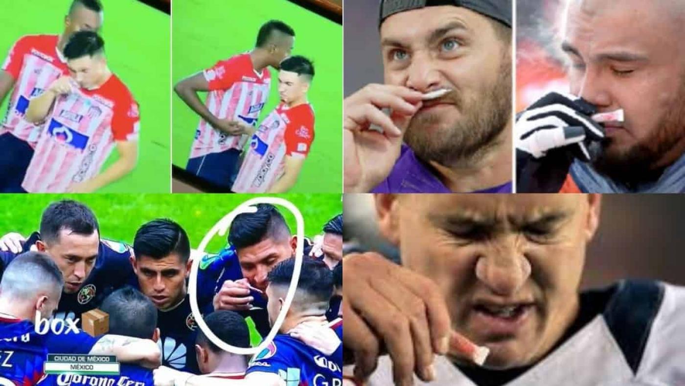 A propósito de los jugadores del Junior, deportistas que vieron inhalando