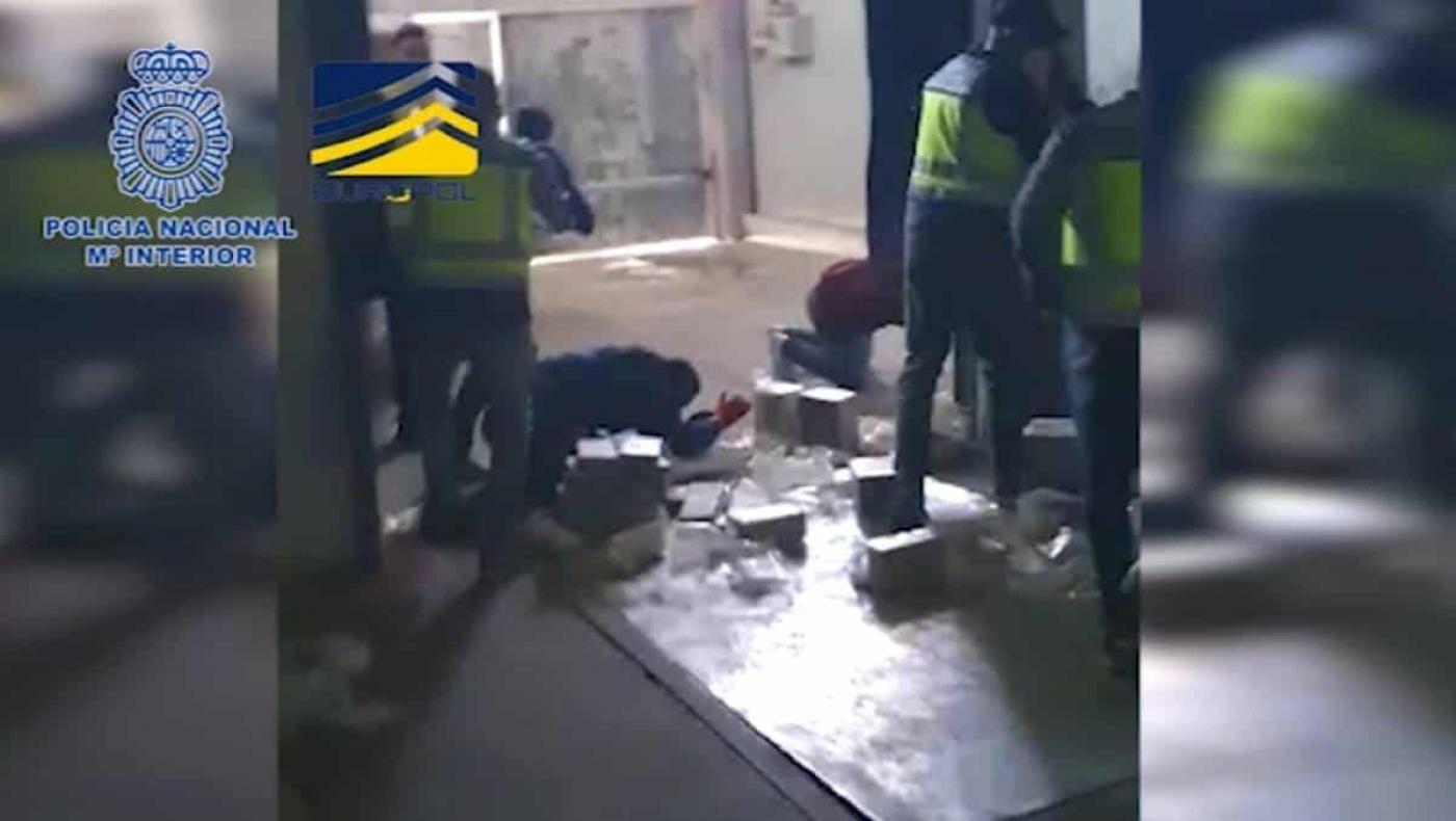 Operativo entre Colombia y España logró incautación de más de 4.000 kg de cocaína