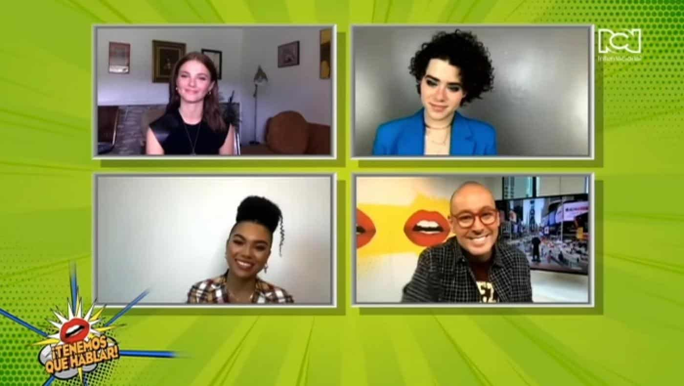 Estrellas de The Girl In The Woods hablaron con Alfonso Díaz sobre su participación en la serie