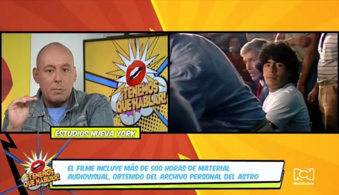 Nueva película de Diego Maradona