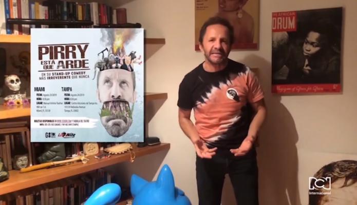 Pirry llegó a la Florida con su Stand-Up Comedy 'Pirry está que arde'