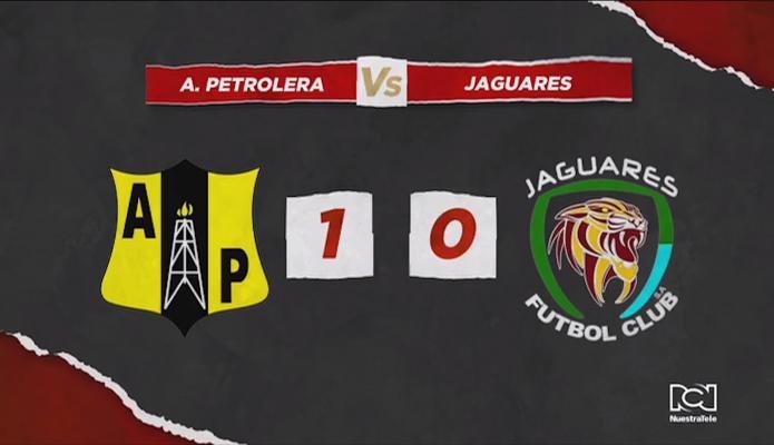 Alianza Petrolera venció a Jaguares y se afianzó en el liderato de la Liga Águila