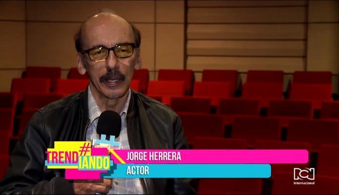 """""""Nunca imaginé que el teatro fuera a ser mi qué hacer vital"""": Jorge Herrera en Legendarios"""