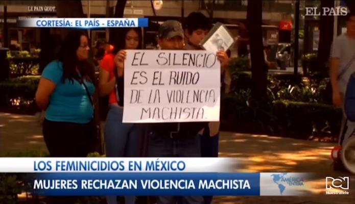 Ordenan proteger a las mujeres ante la ola de violencia machista que vive México