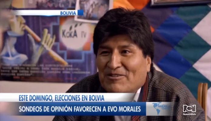 Evo Morales lidera la intención de voto de cara a las elecciones presidenciales en Bolivia