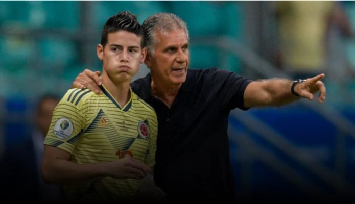 Ramón Jesurún contó por qué James no fue convocado por Queiroz a la Selección Colombia