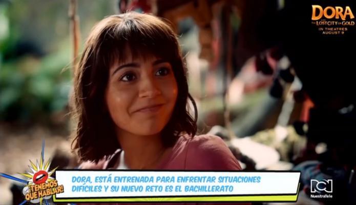 'Dora y la ciudad perdida del oro' estará disponible en formatos caseros este 19 de noviembre