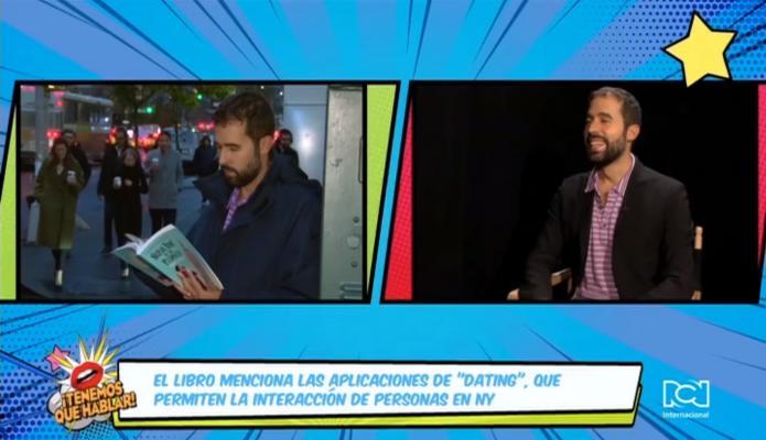 Mateo Sancho se sumerge en las aventuras de un reportero gay en la Gran Manzana con su nueva novela 'Nueva York de un plumazo'