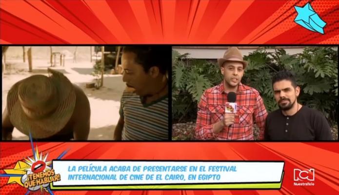 Colombia dijo presente en el Festival Internacional de Cine de El Cairo con la película 'La Frontera' de David David