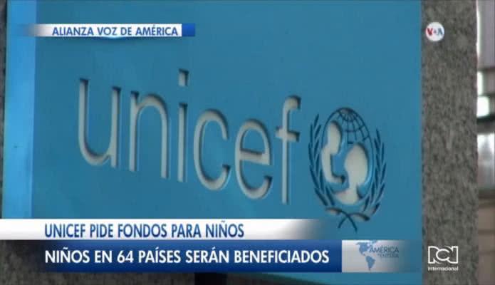 Unicef realiza la mayor petición de fondos de su historia