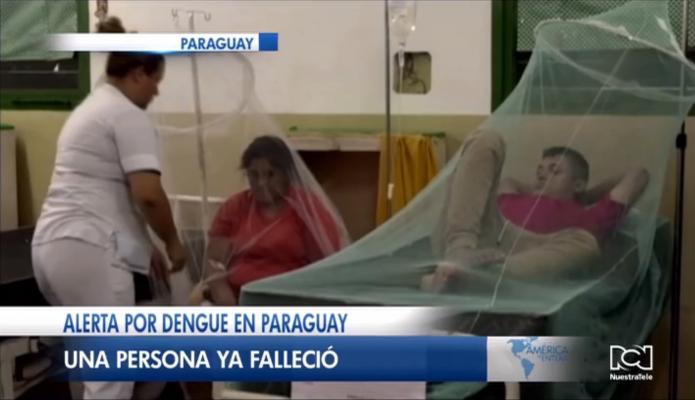 Alerta en Paraguay por aparición de un brote de dengue que ya cobró la vida de una persona