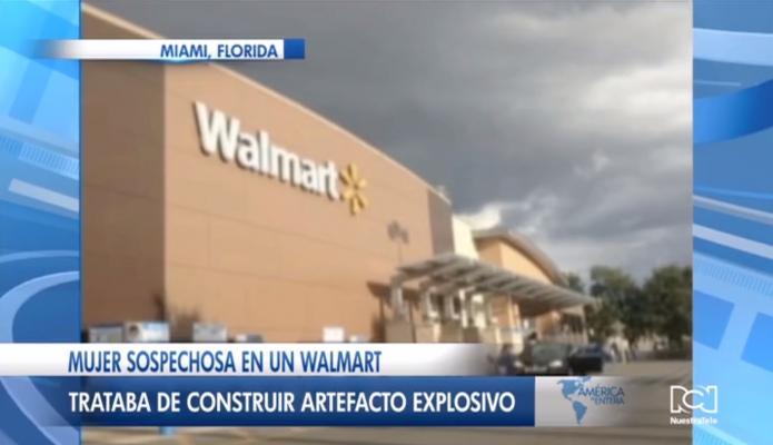 Detienen a mujer que intentaba fabricar un artefacto explosivo en una tienda de Tampa
