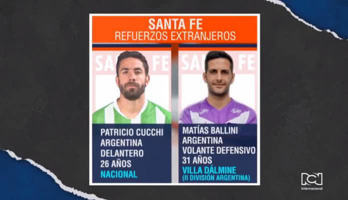 Conozca los futbolistas extranjeros que llegaron como refuerzos para la Liga BetPlay 2020