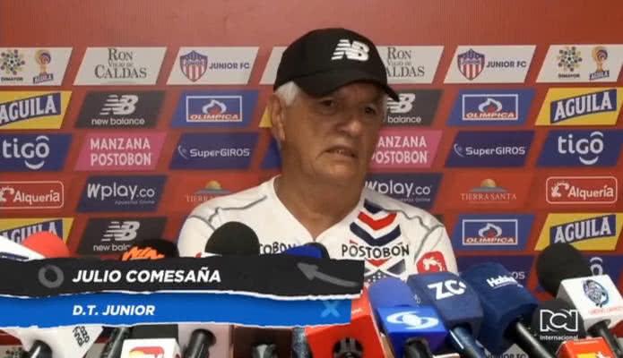 Julio Comesaña empezó diseñar el equipo con el que Atlético Junior buscará ganar la Copa Libertadores 2020