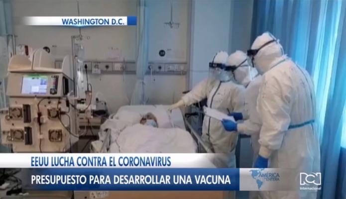 Donald Trump pedirá 2.500 millones de dólares al Congreso de Estados Unidos para luchar contra el coronavirus