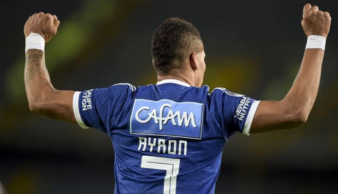 Ayron del Valle y el gol más rápido en la historia de Millonarios