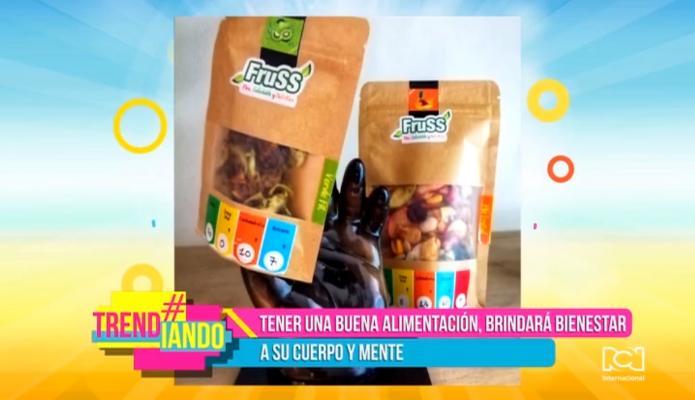 Fruss Colombia le apuesta a la alimentación saludable con snaks, granolas fruta deshidratada