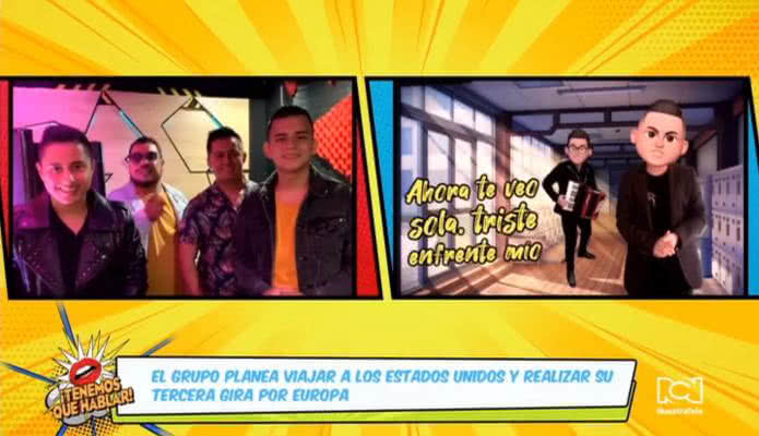 Los hermanos Medina nos presentaron su nuevo single Traicionera