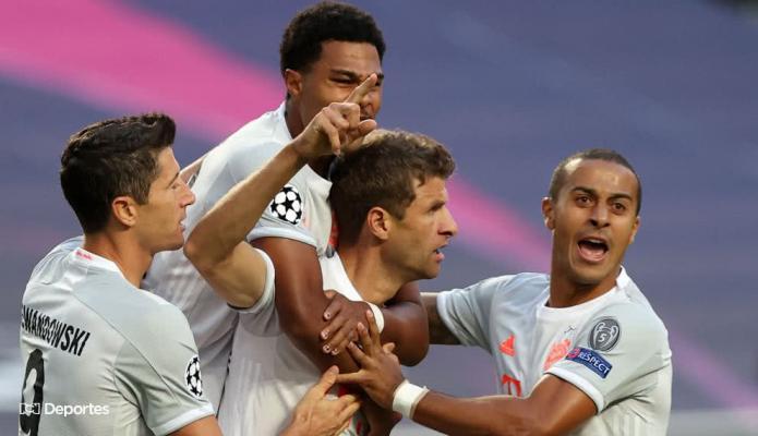 Thomas Müller comparó la victoria ante Barcelona con el histórico 7-1 de Alemania a Brasil
