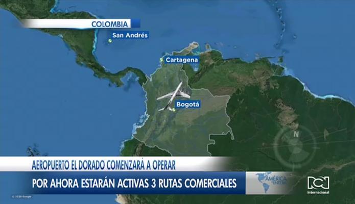 Aeropuerto El Dorado reactivará gradualmente los vuelos nacionales a partir de septiembre