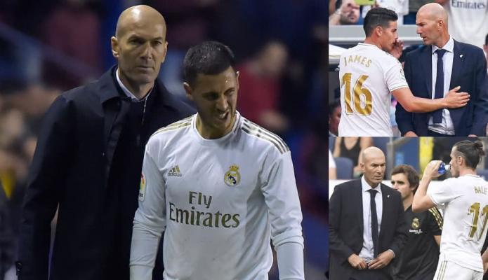 Critican fuertemente a Zidane por su 'mano dura' con James y no con Hazard
