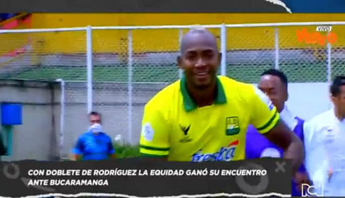 La Equidad le remontó a Bucaramanga