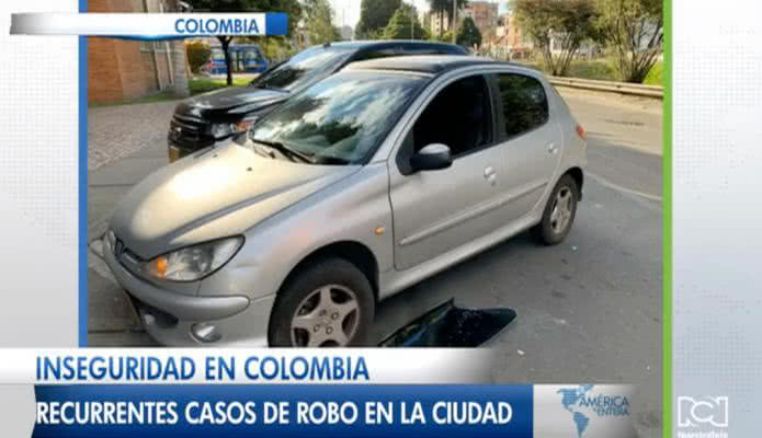 Inseguridad en Colombia, recurrentes casos de robo en la ciudad