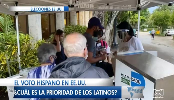 El voto hispano en EE.UU. ¿Cuál es la prioridad de los latinos?