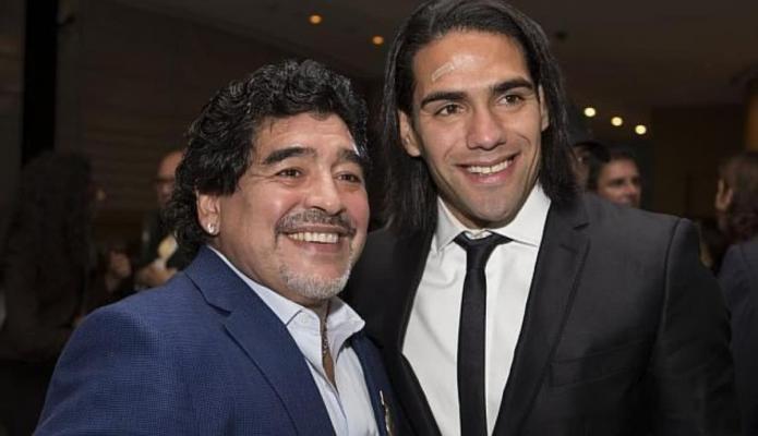 Falcao despide a Diego Maradona: Desde niño siempre fuiste mi ídolo