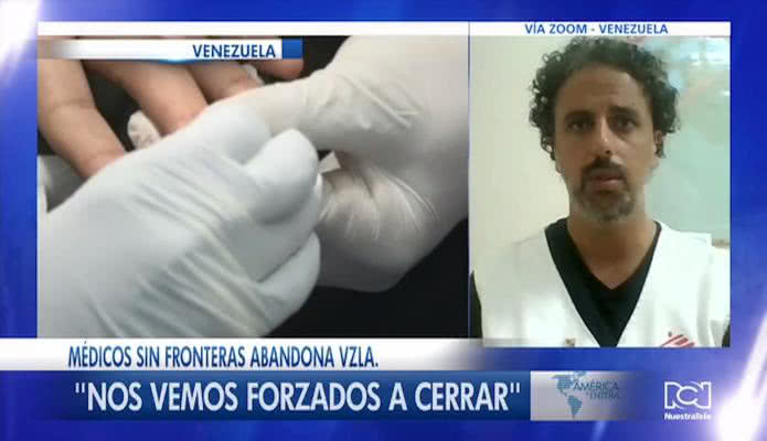 Médicos Sin Fronteras abandona Venezuela por las restricciones del régimen a su personal
