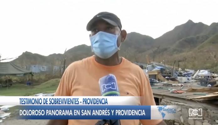Se siguen conociendo testimonios de personas que lo perdieron todo por el paso del huracán Iota por Providencia