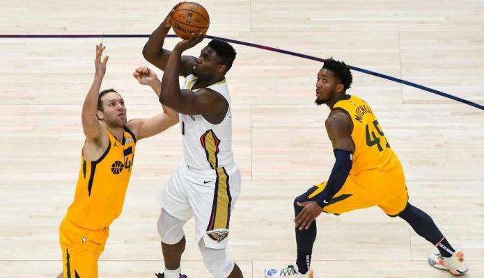 Mitchell le gana el duelo a Zion y los Jazz alcanzan la mejor racha de la NBA