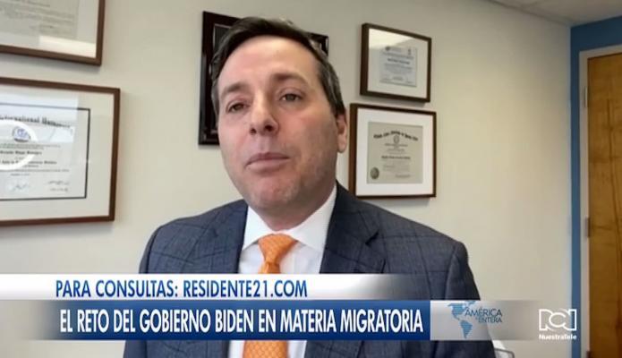 Abogado Diego Ferreyra analiza las políticas de Joe Biden en materia de inmigración