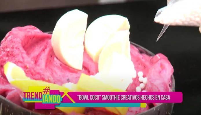 ¿Sabes como preparar un smoothie? Bowl CO CO los prepara y enseña en sus redes como hacerlo