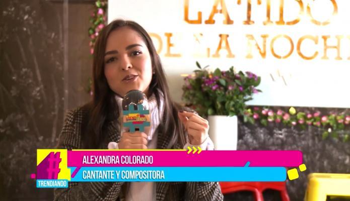 Música de estreno: Alexandra Colorado nos presenta su nuevo sencillo Al mirarte