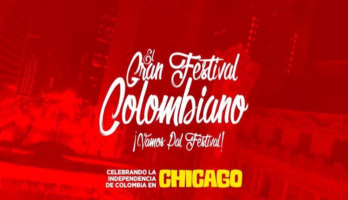 No se pierda la oportunidad de ser parte del gran Festival Colombiano en Chicago el 24 y 25 de Julio