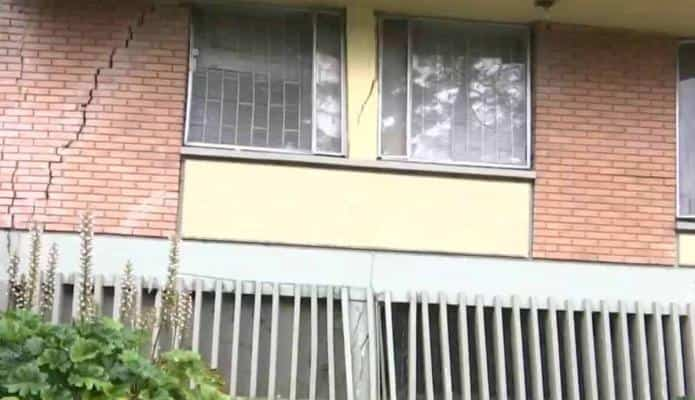 Alerta en Bogotá por riesgo de colapso de edificios en Chapinero