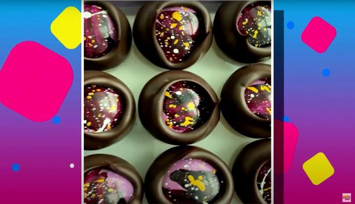 Que te guste el chocolate está bien, que el chocolate tenga oro comestible ya es avaricia