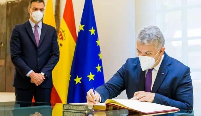 Colombia suscribió cuatro nuevos acuerdos con España