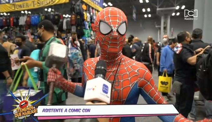 Asistentes al Comic Con 2021 cuentan qué fue lo que más les gustó de la feria