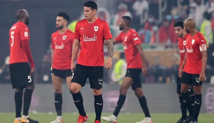 James Rodríguez y Al-Rayyan cayeron contra Al-Sadd en la final de la Copa del Emir