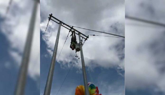 Rescate de paracaidista terminó en tragedia luego que socorrista muriera electrocutado