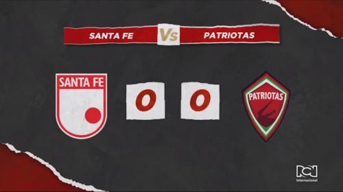 Santa Fe Vs Patriotas