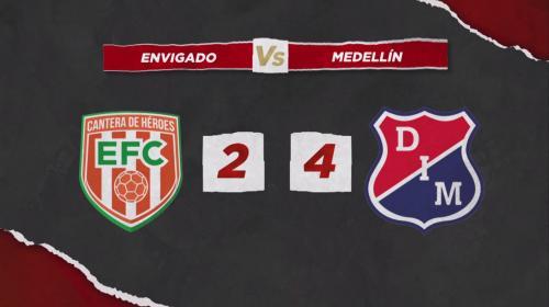 DIM derrotó a Envigado y regresó a la victoria tras cinco derrotas consecutivas