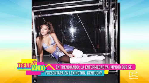 Ariana Grande podría cancelar su gira de conciertos por problemas de salud
