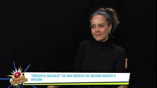 Cristina Umaña nos habló sobre su experiencia en Netflix y Amazon Prime con 'Distrito Salvaje' y 'Jack Ryan'