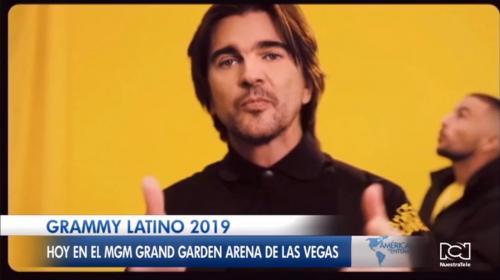 Juanes será condecorado como 'personaje del año' en la gala de los Grammy Latino