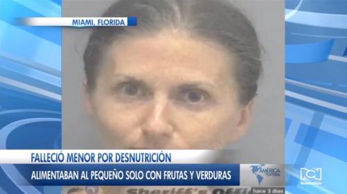 Pareja de veganos es acusada de provocar la muerte de su bebé por solo darle frutas y verduras