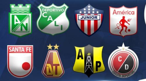 Tabla de posiciones cuadrangulares semifinales Liga Águila 2019-II